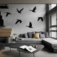 Metal Birds Decor Metal Wall Art Geese Birds Metal Sign Interior Decoration