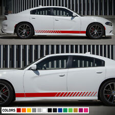 Decal Sticker Graphic Side Stripe Body Kit for Dodge Charger RT SRT Rocker Sport