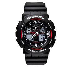 Casio G-Shock World Time Led Light Digital Analog Timer Watch GA100-1A4