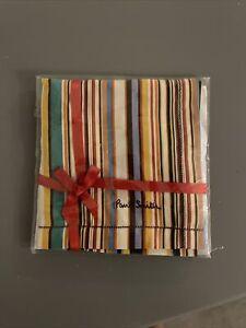 Paul Smith Signature Stripe Handkerchief Pocket Square