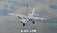 Cessna 172 Christmas Ornament Single Prop Airplane Aircraft Plane Skyhawk Mono