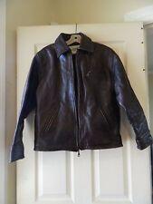 Women's Sea Dream Dark Brown Leather Jacket Size Large