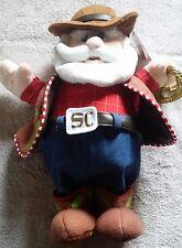 """A Traditional Christmas Cowboy Santa - Singing """"Santa Claus Is Coming To Town"""""""