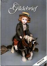 Gildebrief 1/2009 Dollmaking Antique Dress & Knitting Patterns Kestner x