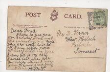 Fred Vosper West Porlock Somerset 1905 453b