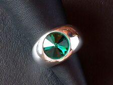 Designer Ring - Turmalin - Sterling Silber - 925 - Spezial Schliff - Grösse 55