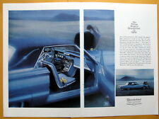 Vintage Magazine Print Ad 1965 Thundebird