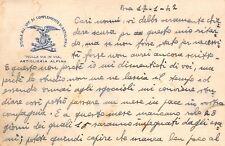 C5616) WW2 ALPINI, BRA, SCUOLA ALLIEVI UFFICIALI COMPLEMENTO ARTIGLIERIA ALPINA