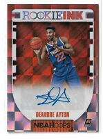 2018-19 Panini Hoops basketball Rookie Ink Auto Deandre Ayton RC Phoenix Suns