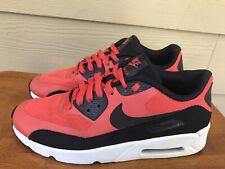Nike Air Max 90 Ultra 2.0 Youth Athletic Shoes Orange Black 869950-800 Sz 6.5Y