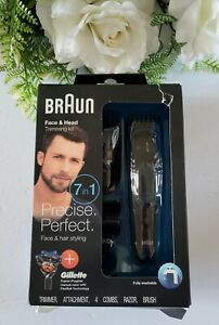 Braun All-in-One Face & Head Trimming Kit MGK3045 7-in-1 Precision Trimmer