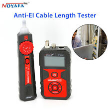 NOYAFA NF-858C Digital LCD Display Anti-EL Wire Lan Network Cable Length Tester