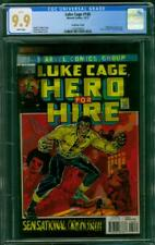 Luke Cage 166 CGC 9.9 Hero for Hire 1 Homage Lenticular Cover up 9.8