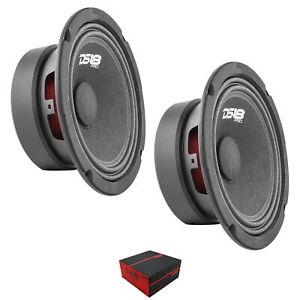 "2 x DS18 6.5"" 960W Midrange Loudspeaker 4 Ohm Pro Car Audio PRO-GM6.4"