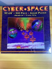"""Cyber Space 18""""x24"""" 500 Piece Nordevco Jigsaw Puzzle NEW SEALED"""