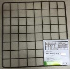Japan Import-Kitchen Garden wire net hanging rack Mesh Memo Board wall mount 8x8