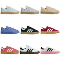 adidas ORIGINALS SAMBAROSE TRAINERS BLACK GREY PINK RED SHOES KICKS SALE CASUALS