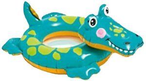 Kids Crocodile Inflatable Tube Intex Big Animal Rings Pool Float Water Swimming