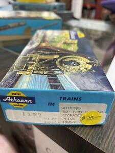 Athearn 50' Flat Car ~ Undecorated - HO