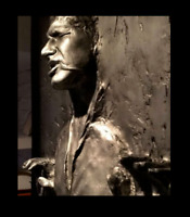 STAR WARS Life Size Han Solo in Carbonite Prop Realistic Display Plus Lighting*