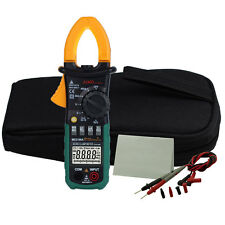 MS2108A Digital AC DC Voltage Temp Clamp Multimeter Backlight Meter Auto Ranging