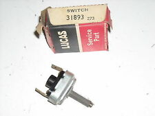Lucas Handbrake Warning Switch, # 31893, NOS, E-Type