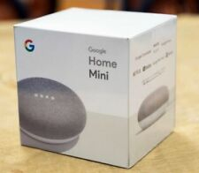 NEW Google Home Mini Smart Speaker with Google Assistant - Chalk Grey Gray