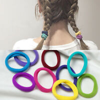 50pcs Nylon Elastic Headband Baby Girls Women Kids Hairband Scrunchie Hair Ring