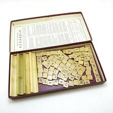Vintage Scrabble Game 1948/49 | Vintage Scrabble Tiles Great for Scrapbooking