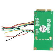 Mini PCI-E PCI Express to SATA SSD HDD USB Converter Adapter for Notebook WT7n