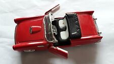 """Metal Red Ford Thunderbird Convertible Model (6""""L x 2""""H)"""