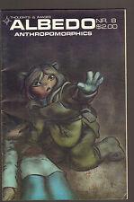 1986 Albedo #8 ~ Anthropomorphics / Comic - (Fine+) Wh