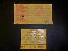 GENESIS 1982&1983 TICKET STUB***CNE GRANDSTAND AND MAPLE LEAF GARDENS TORONTO