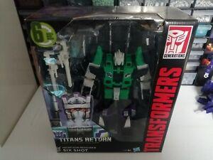 Transformers Combiner Wars Sixshot