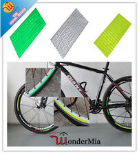 3-Pack Bike Bicycle Wheel Rim Reflective Safety Decal Tape Stickers (3 COLOR) CA