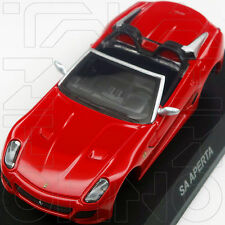 FERRARI SA APERTA MINICAR COLLECTION 9 NEO KYOSHO 1:64 RED ROSSO ROT 599 FIORANO