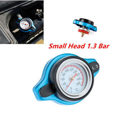 Car Thermost Radiator Cap+Water Temp gauge 1.3 BAR Cover Small Head