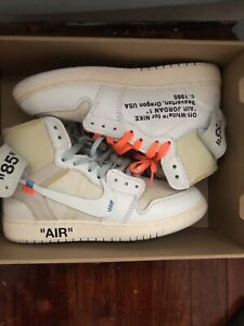 Air Jordan Off White x Air Jordan 1 Retro