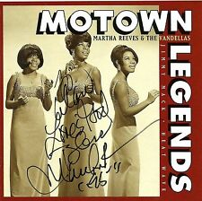 MARTHA REEVES & VANDELLAS CD BOOKLET COVER SIGNED AUTOGRAPH BY MARTHA REEVES #2