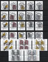 Bund 2298 - 2302 gestempelt Vollstempel Eckrand o.Viererblock SWK ESST BRD 2002