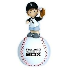 Precious Moments MLB Chicago White Sox Boy On Baseball Musical Figurine