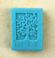 Life tree S216 Silicone Soap mold Craft Molds DIY Handmade soap mould