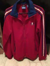 Adidas Firebird Tracksuit Top / Jacket - Red - Medium