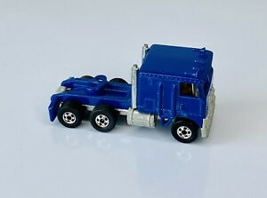 Hot Wheels Steering Rigs Blue Kenworth Truck Cab Blackwall 1980s Near Mint!