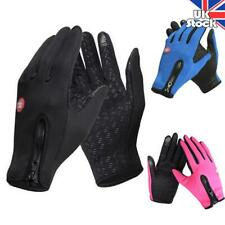 Men Women Touch Screen Winter Bike Bicycle Cycling Thermal Warm Gloves Windproof