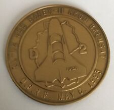 D-2 Spacelab Flight Space Shuttle Columbia Coin Medal Nasa