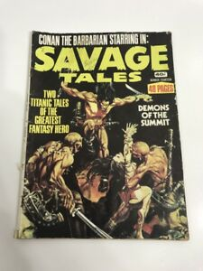 VINTAGE 1970S COMIC BOOK - CONAN THE BARBARIAN STARRING IN: SAVAGE TALES # 14