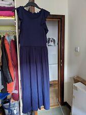 Gap Maxi Blue Dress 14