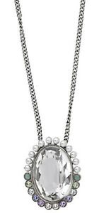 Swarovski Calista Crystal & Pearl Pendant Long Necklace for Women 5118133