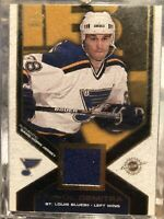 2002-03 Pacific PAVOL DEMITRA Game Jersey #43